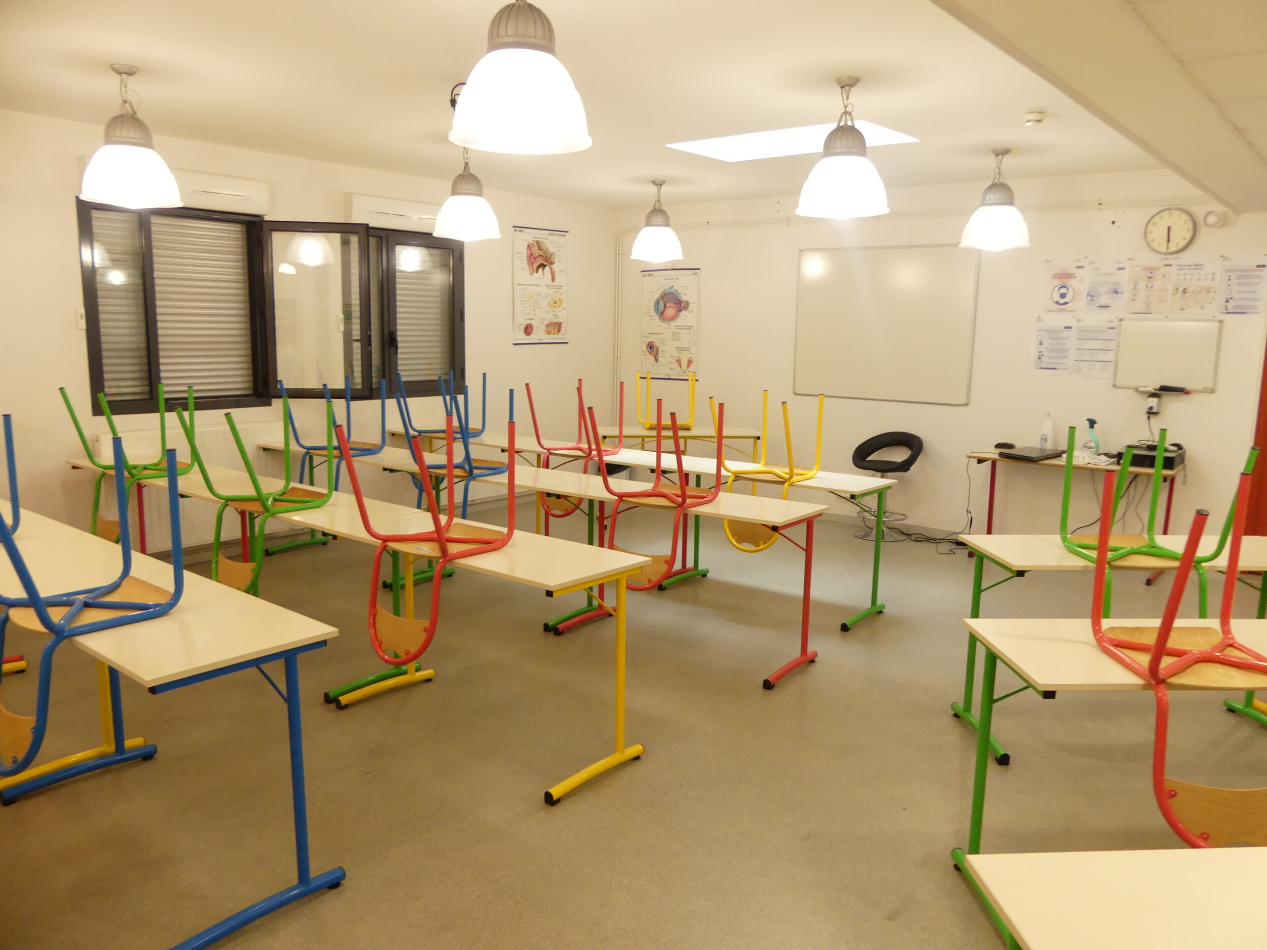 Salle de cours Aide Soignant
