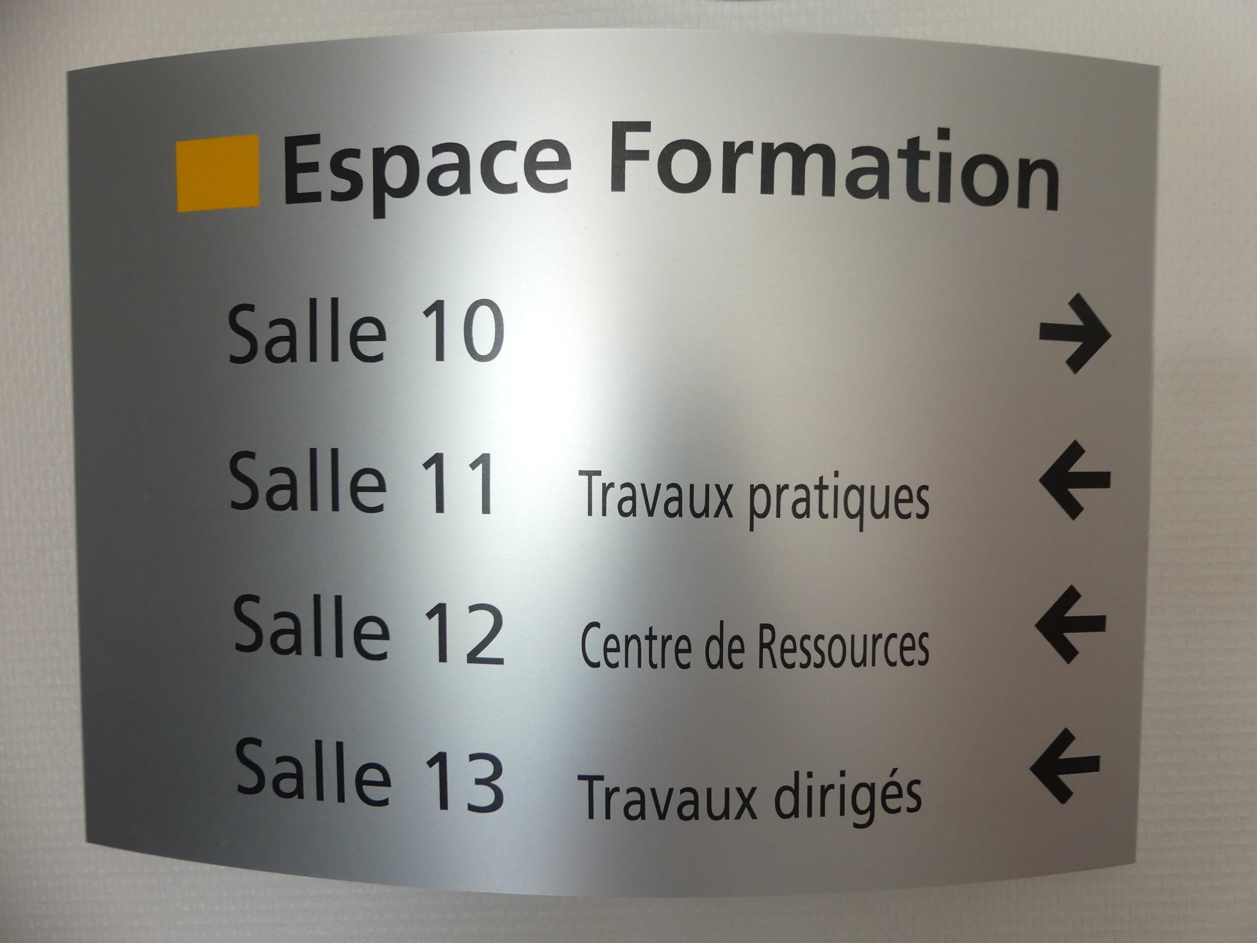 Panneau d'information